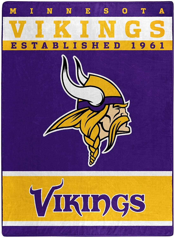 The Officially Licensed Nfl Throw Minnesota Vikings Fleece Blanket