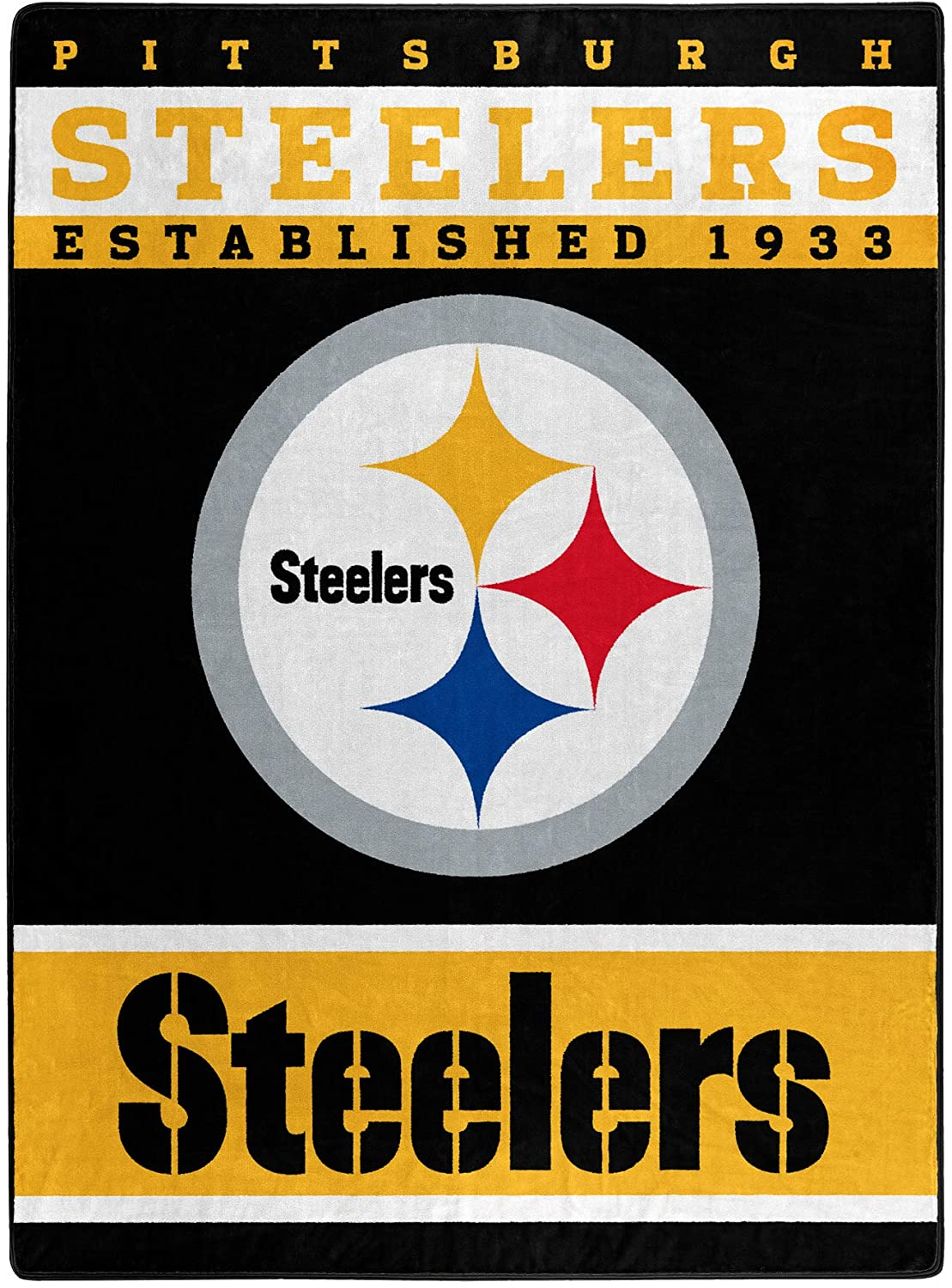 The Officially Licensed Nfl Throw Pittsburgh Steelers Fleece Blanket