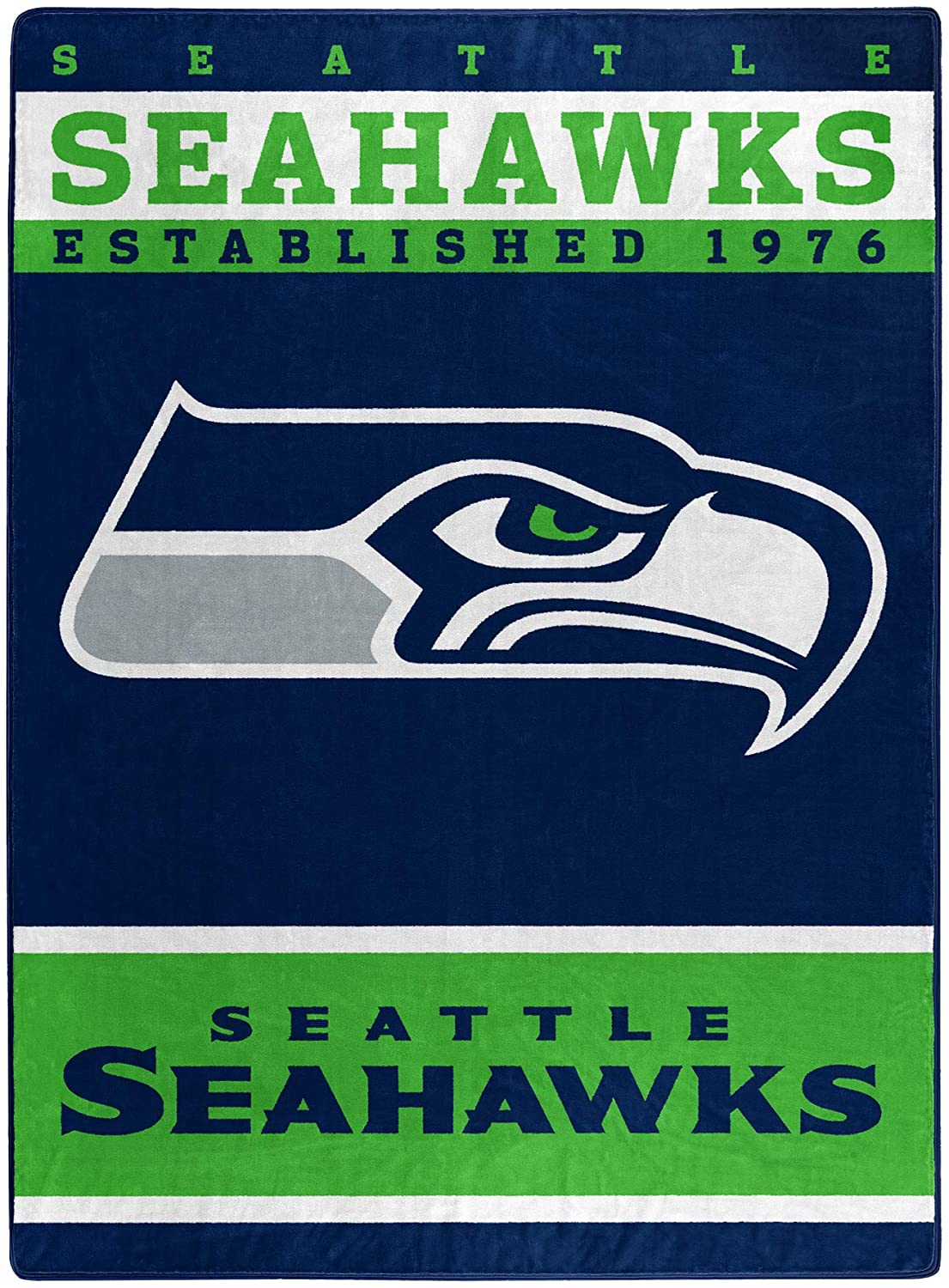 The Officially Licensed Nfl Throw Seattle Seahawks Fleece Blanket