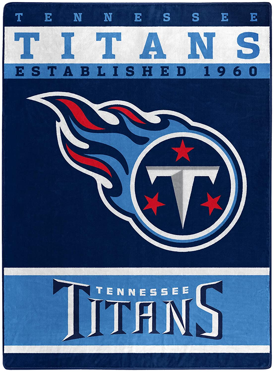 The Officially Licensed Nfl Throw Tennessee Titans Fleece Blanket