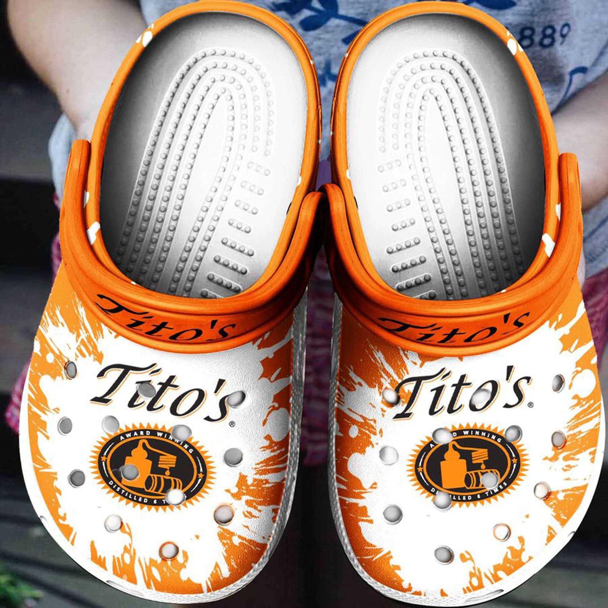 Tito's Crocs Clog Shoes