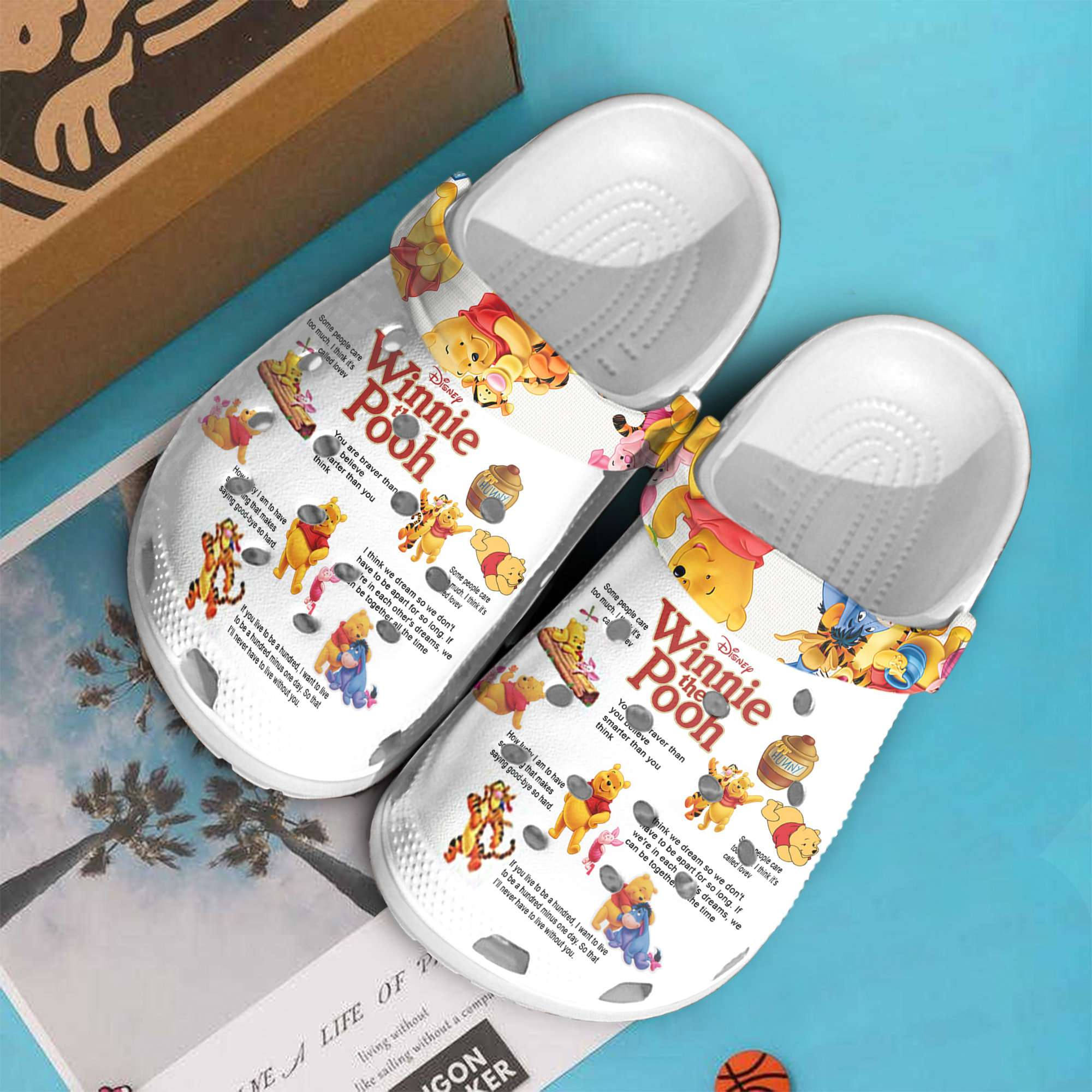 Winnie The Pooh Crocs Clog Shoes