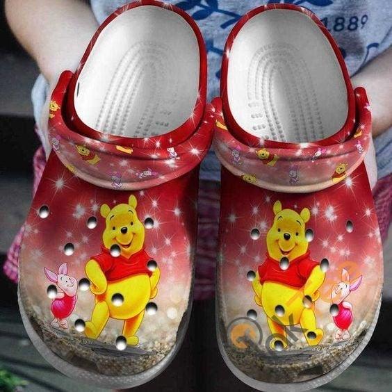 Winnie The Pooh Disney Bear Crocs Clog Shoes