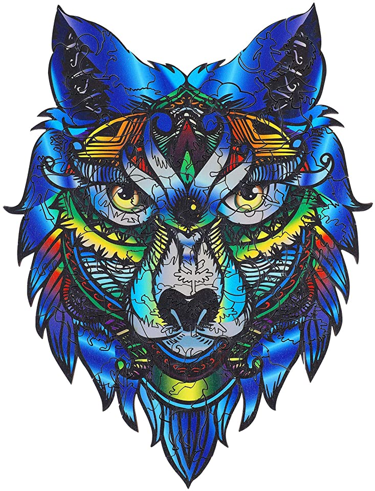 Wolf King Jigsaw Puzzle
