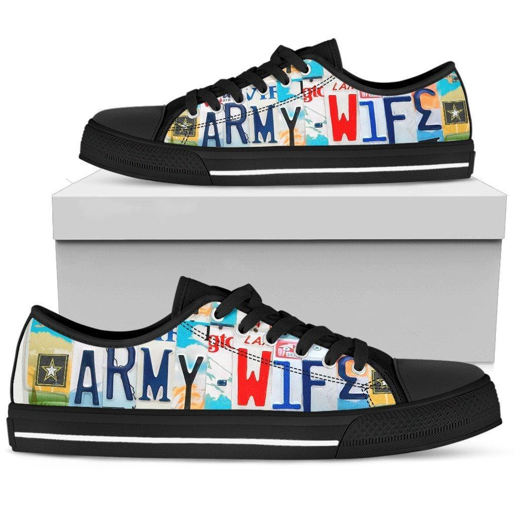 Army Wife Low Top Shoes