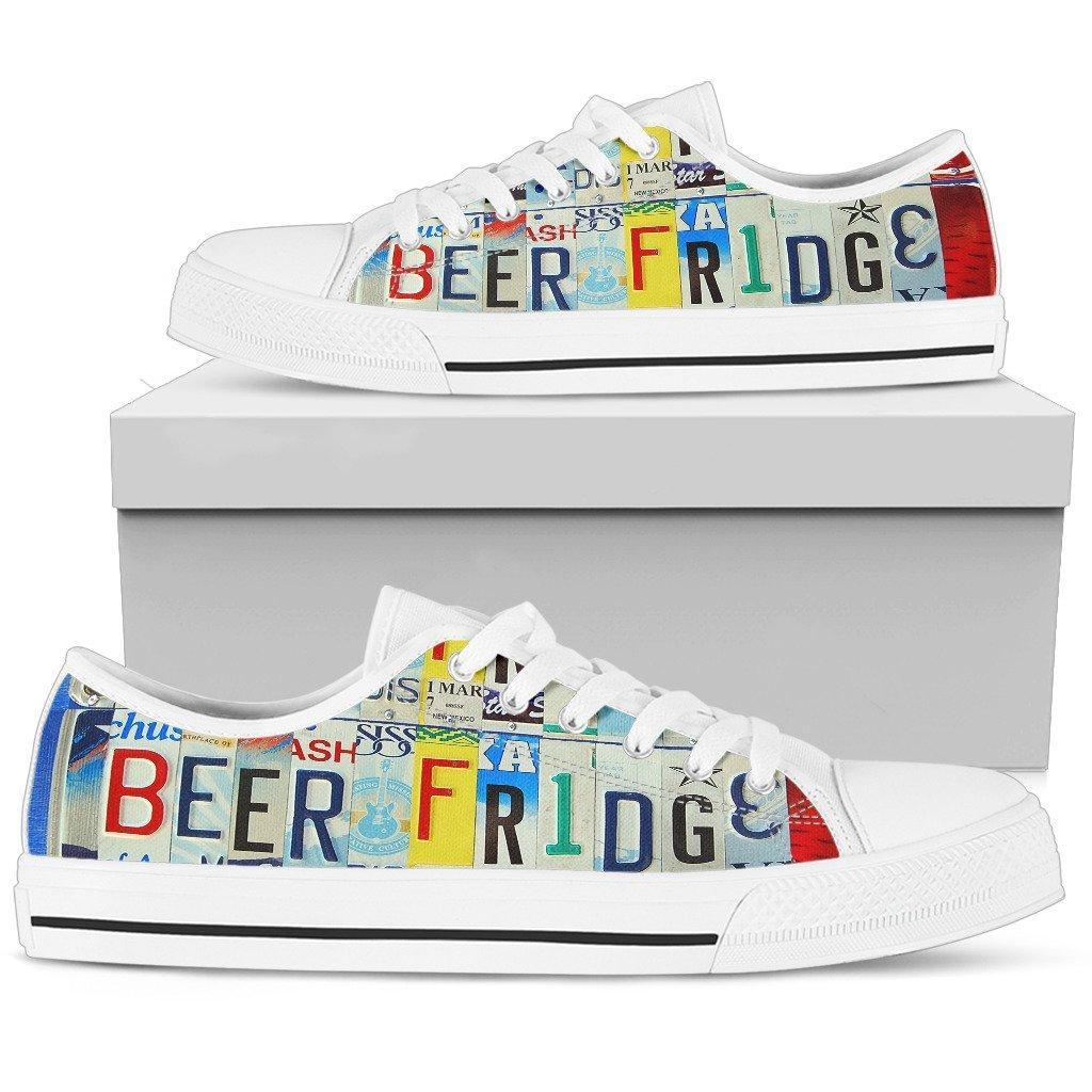 Beer Fridge Low Top Shoes