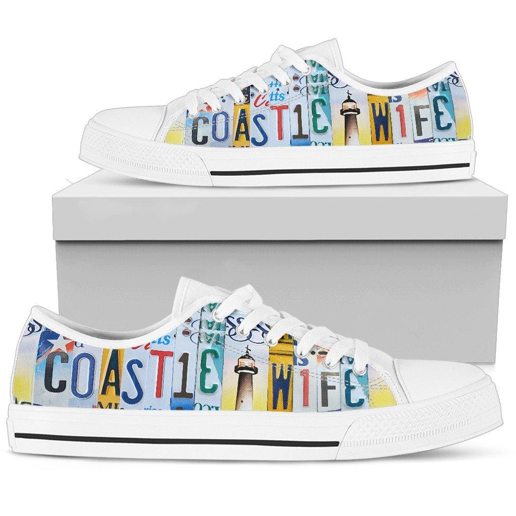 Coastie Wife Low Top Shoes