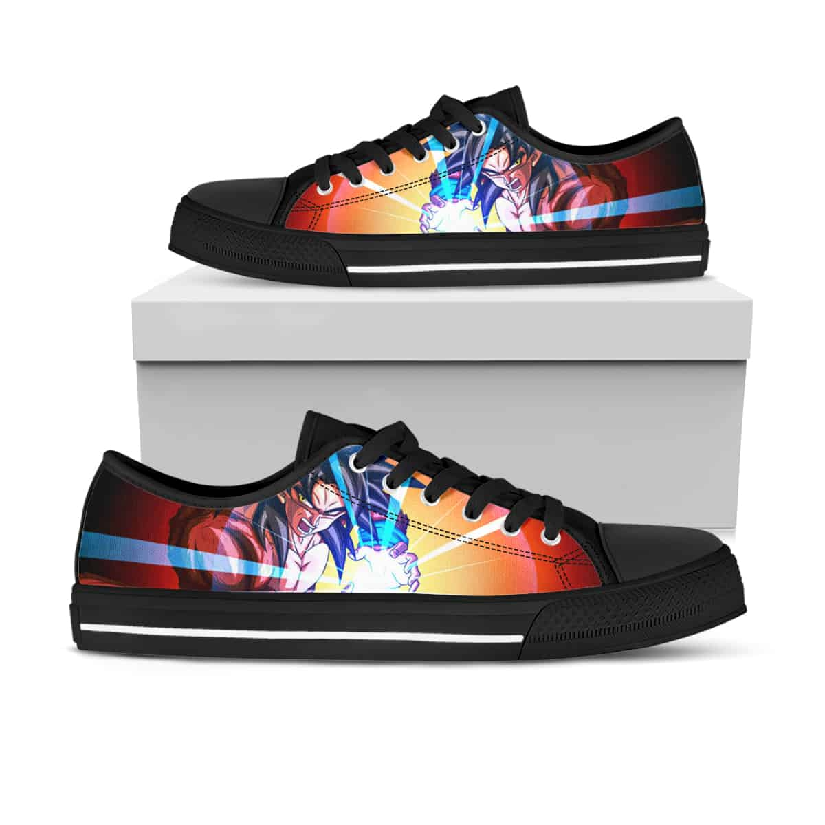 Dragon Ball Ha20 Low Top Shoes