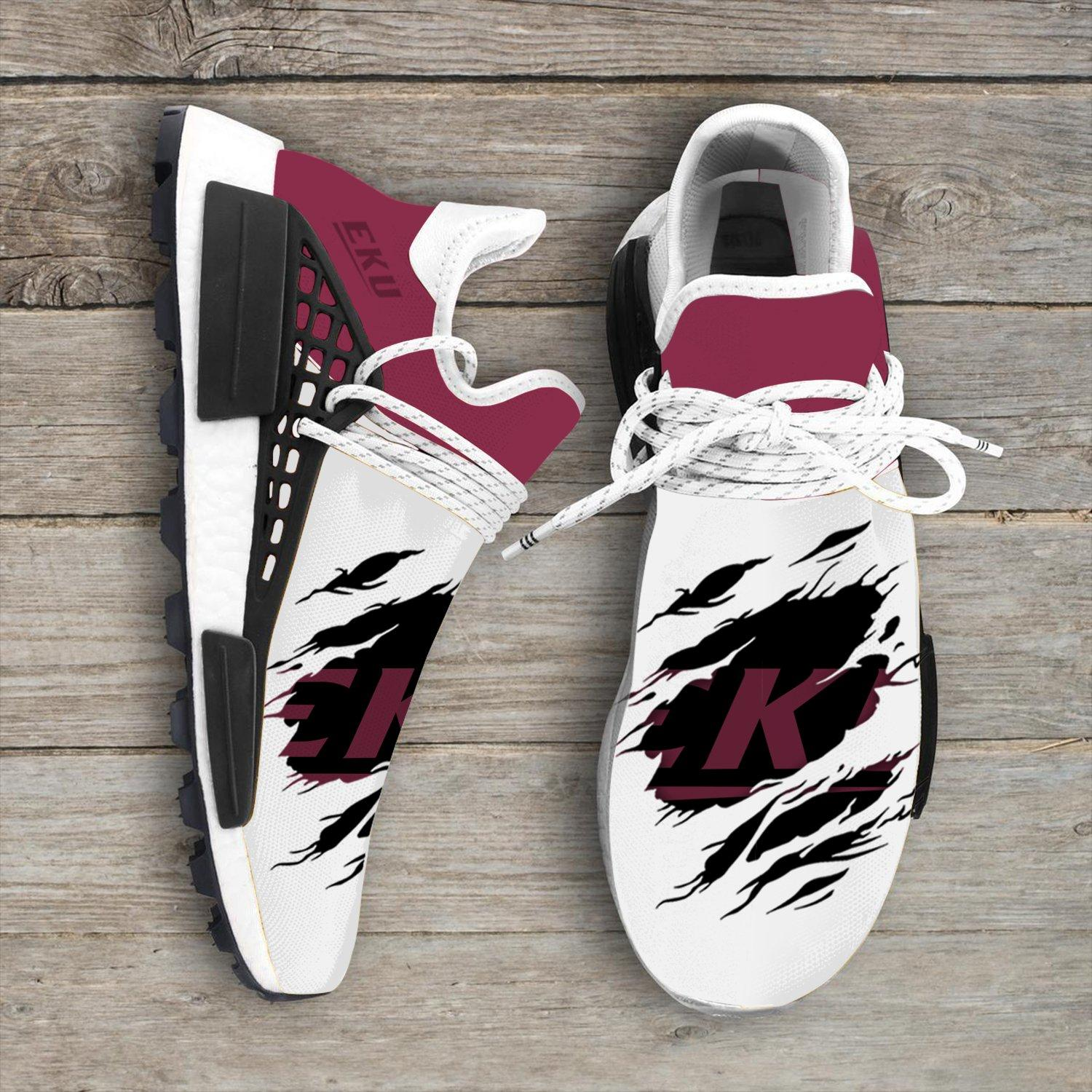 Eastern Kentucky Colonels Ncaa Sport Teams NMD Human Shoes