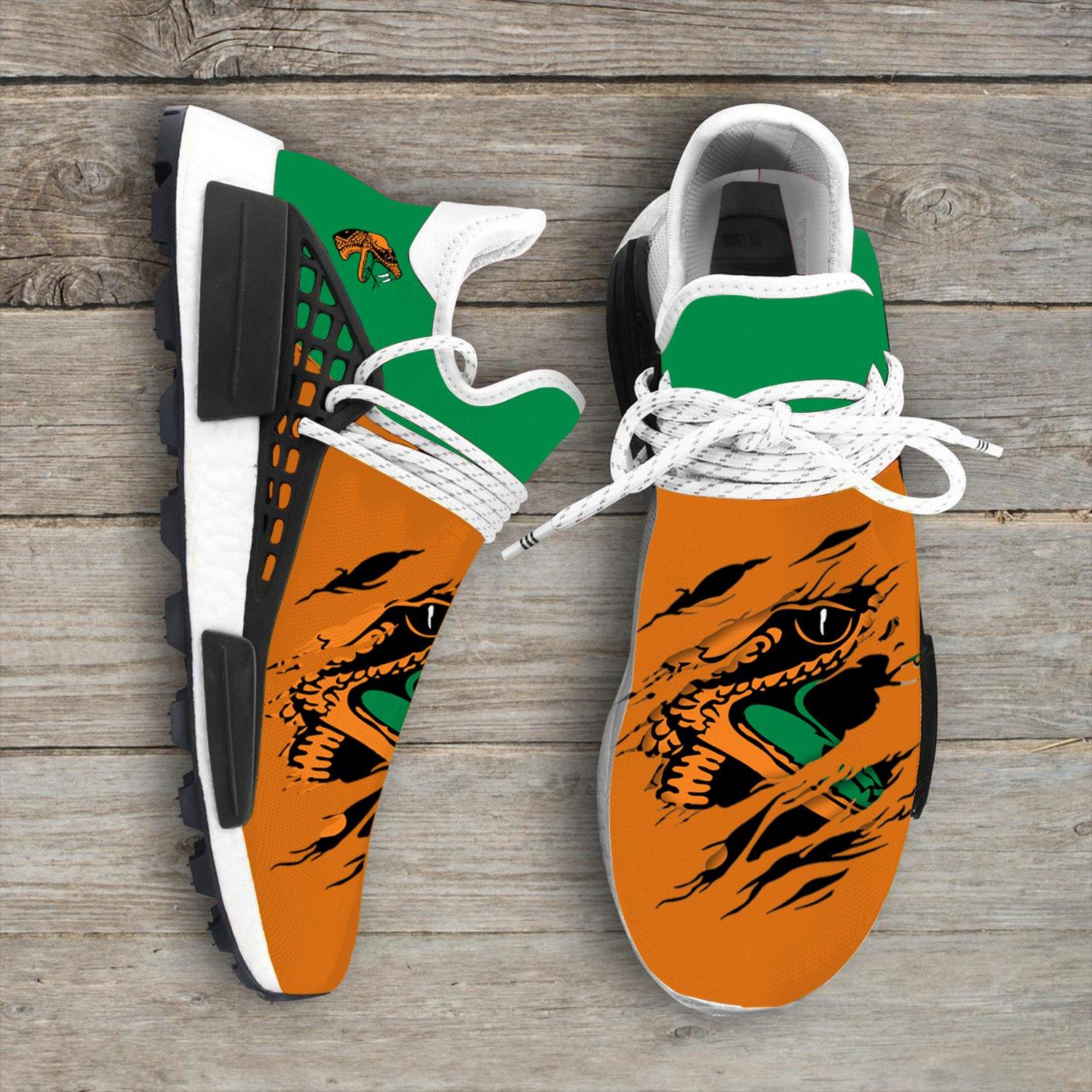Florida A&m Rattlers Ncaa NMD Human Shoes