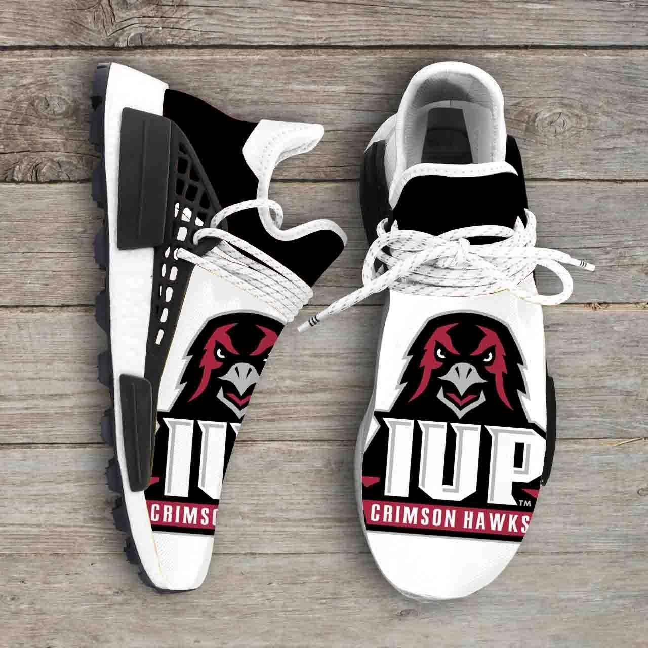 Indiana University Of Pennsylvania Crimson Hawks Ncaa NMD Human Shoes