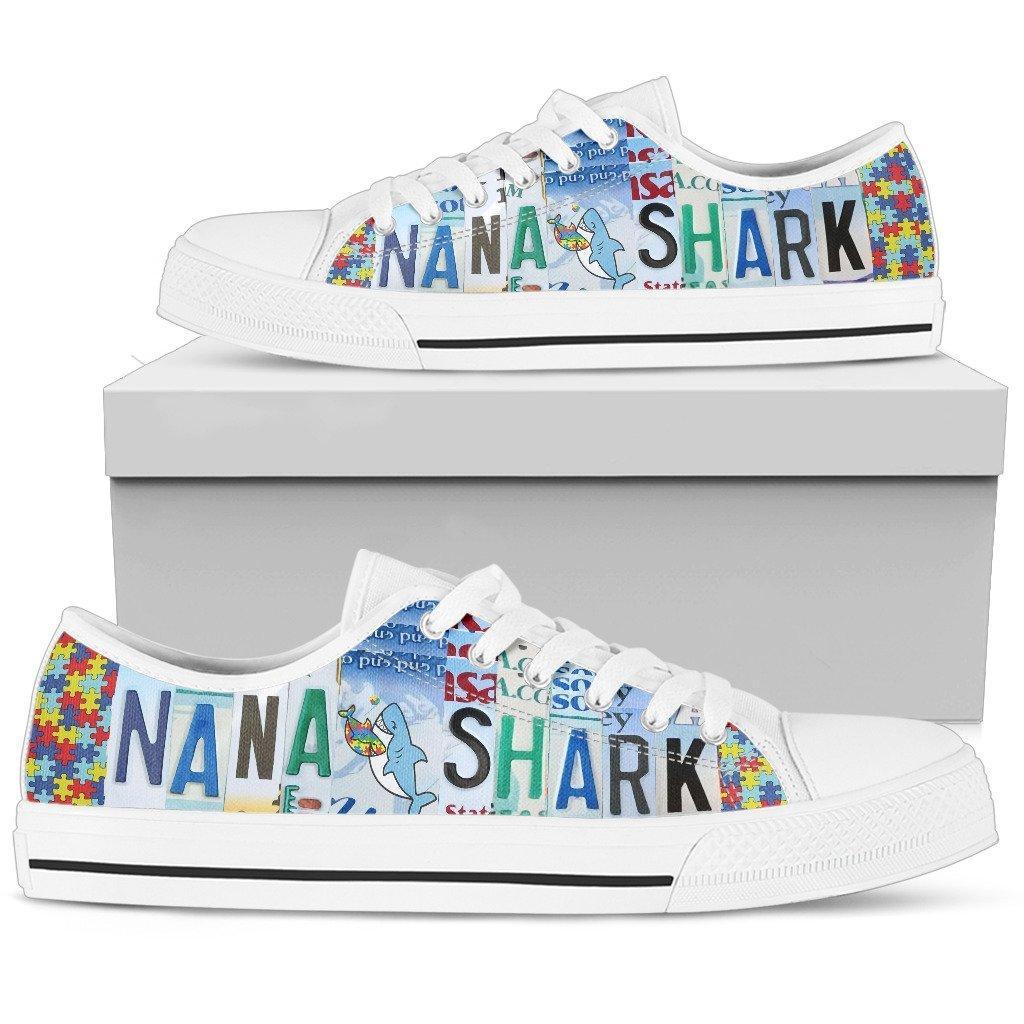 Nana Shark Low Top Shoes
