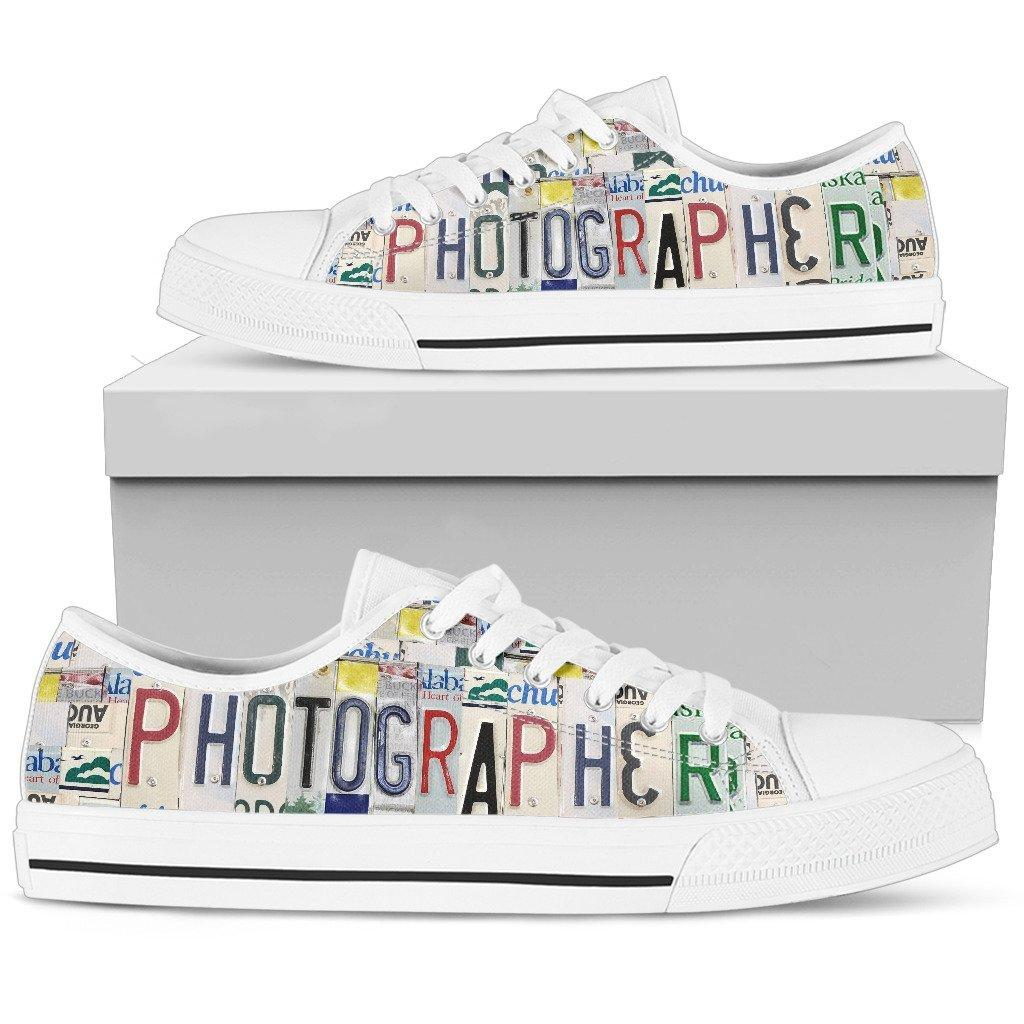 Photographer Low Top Shoes