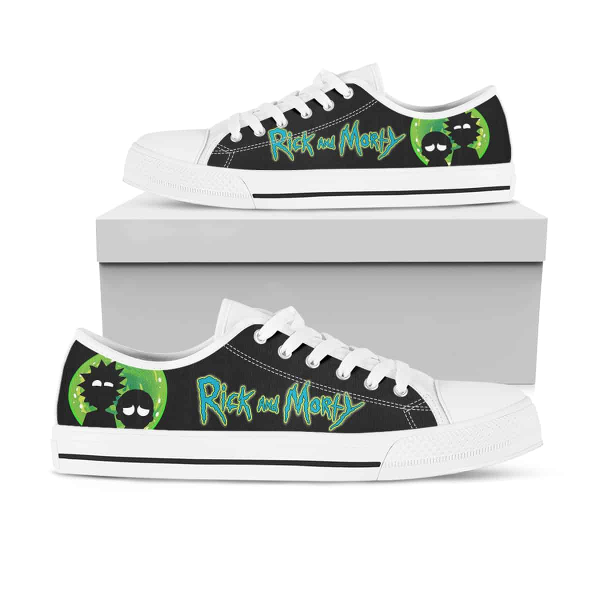 Rick And Morty Ha28 Low Top Shoes