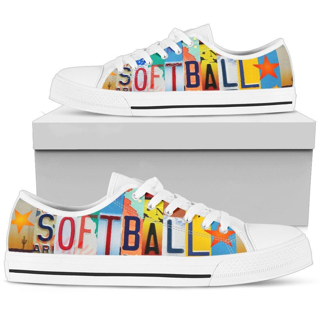 Softball Addict Low Top Shoes
