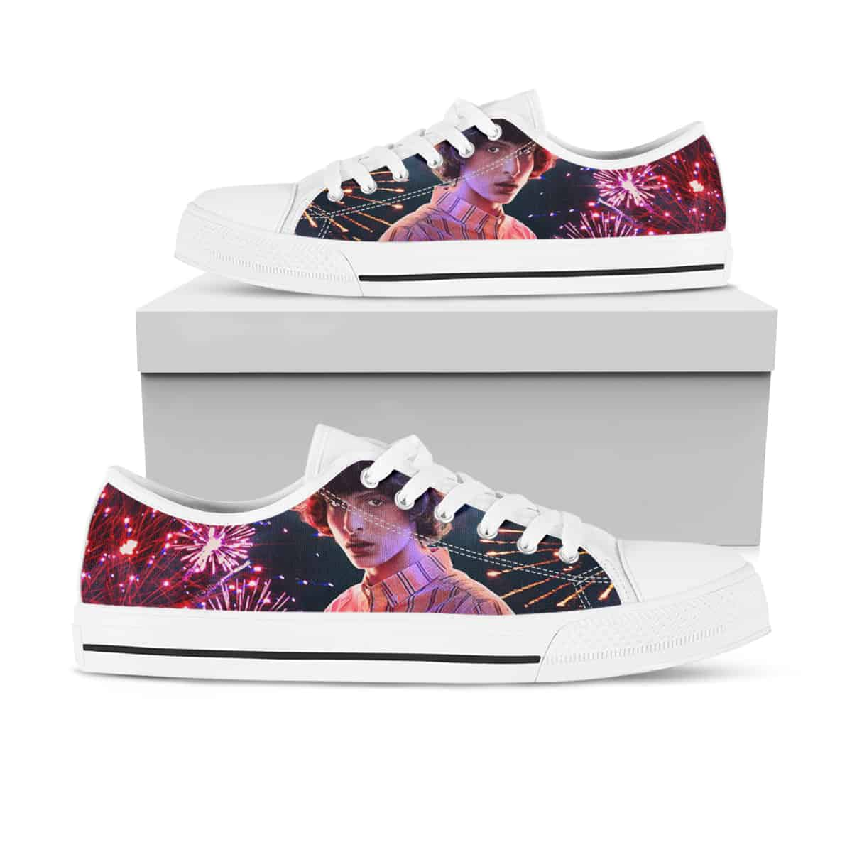 Stranger Things Ha08 Low Top Shoes