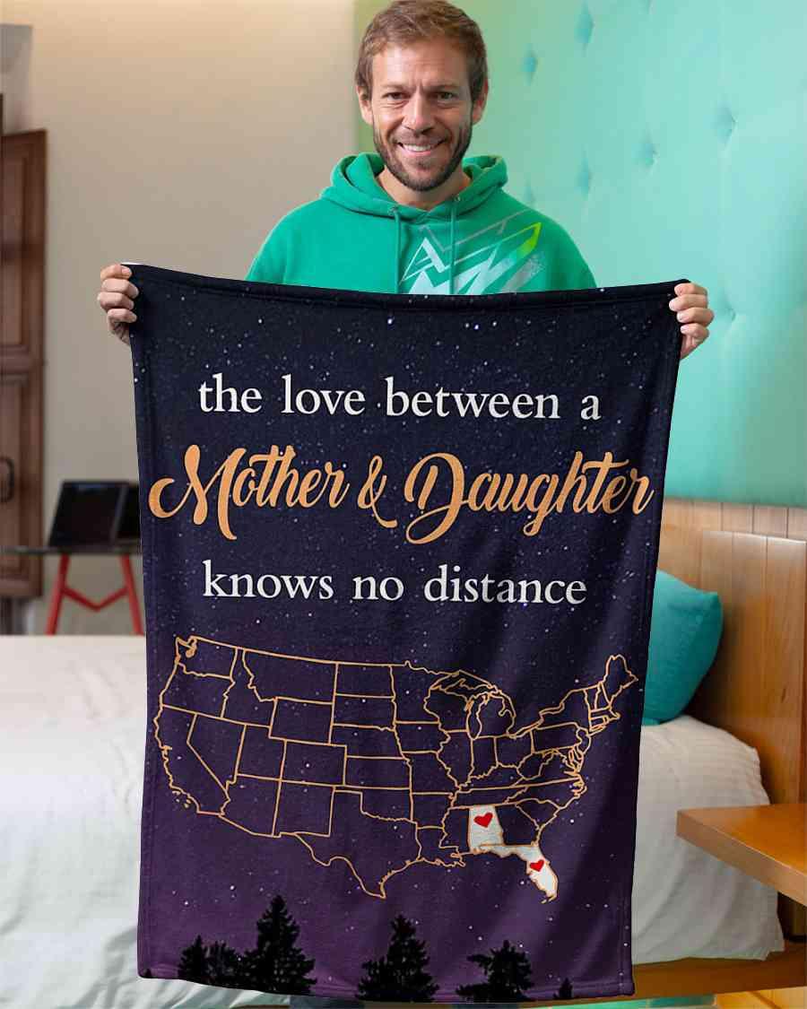 alabama florida the love mother and daughter fleece blanket 1584508411758 Alabama Florida The Love Mother And Daughter Fleece Blanket