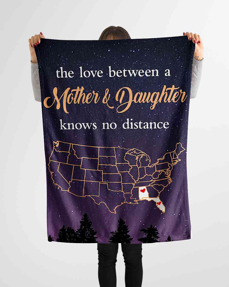 alabama florida the love mother and daughter fleece blanket 1584508416484 Alabama Florida The Love Mother And Daughter Fleece Blanket