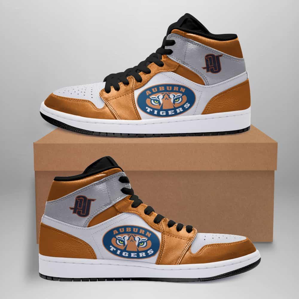 Auburn Tigers American Football Ha02 Custom Air Jordan Shoes