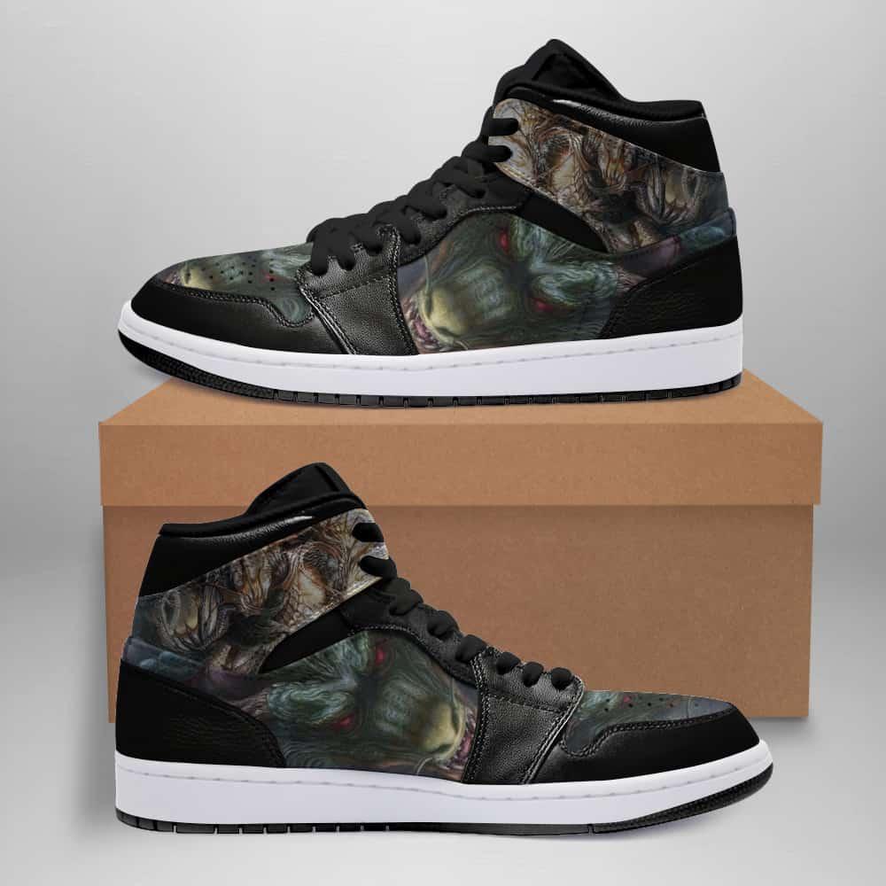Dragon Ball Custom Air Jordan Shoes