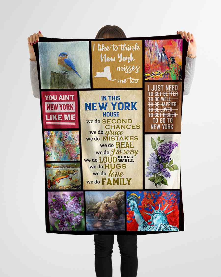 in this new york house we do second chances fleece blanket 1584508481475 In This New York House We Do Second Chances Fleece Blanket