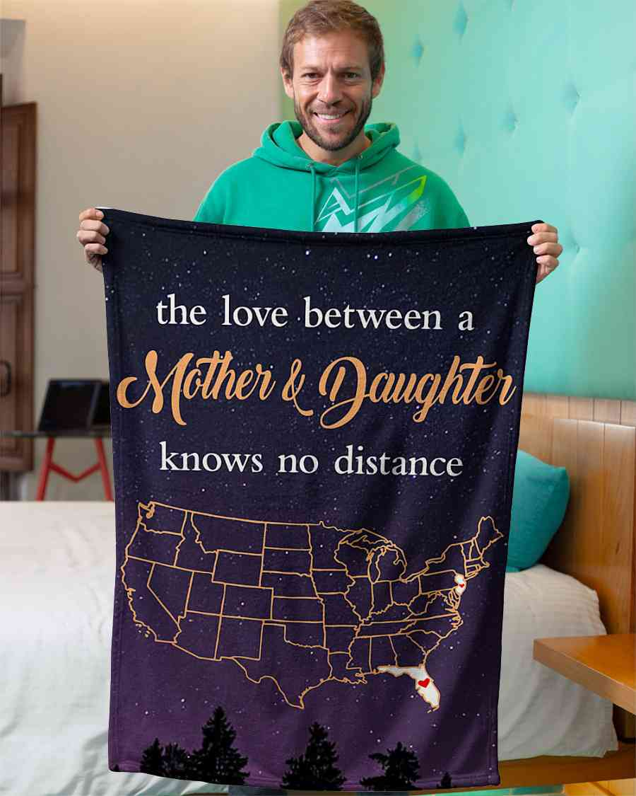 jersey florida the love mother and daughter fleece blanket 1584508538750 Jersey Florida The Love Mother And Daughter Fleece Blanket