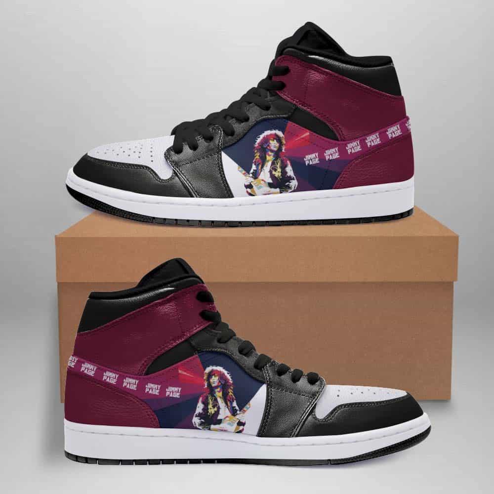 Jimmy Page Custom Air Jordan Shoes