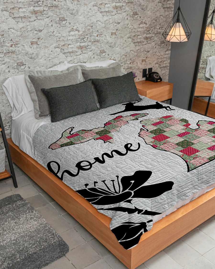 michigan home fleece blanket 1584508509215 Michigan Home Fleece Blanket