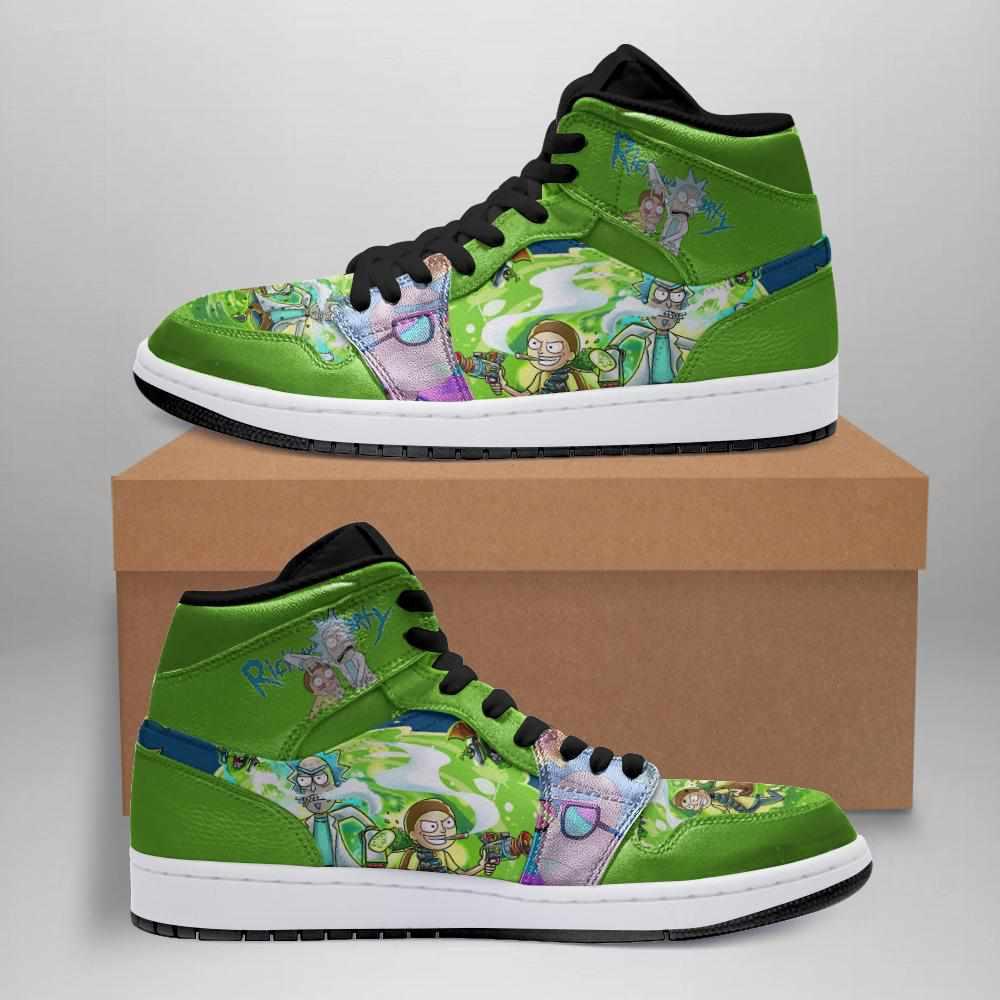 Rick And Morty Ha02 Custom Air Jordan Shoes