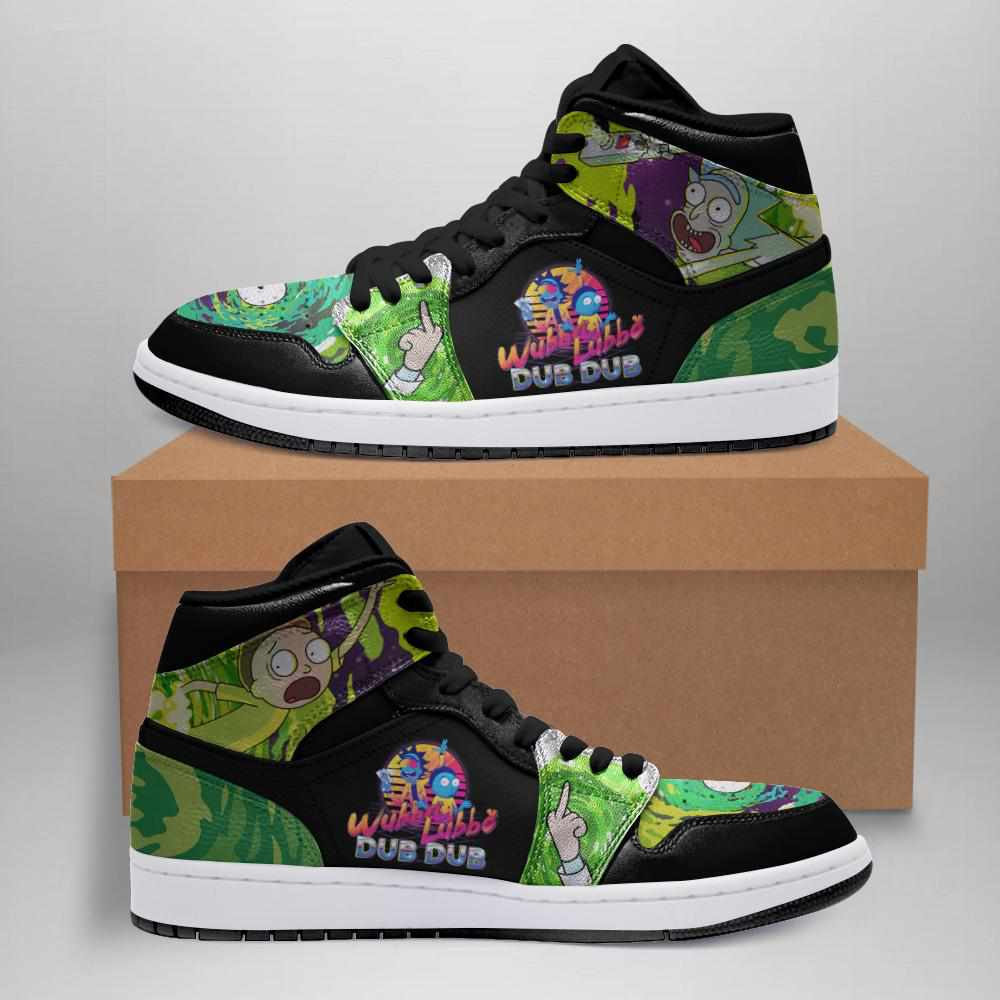 Rick And Morty Ha03 Custom Air Jordan Shoes