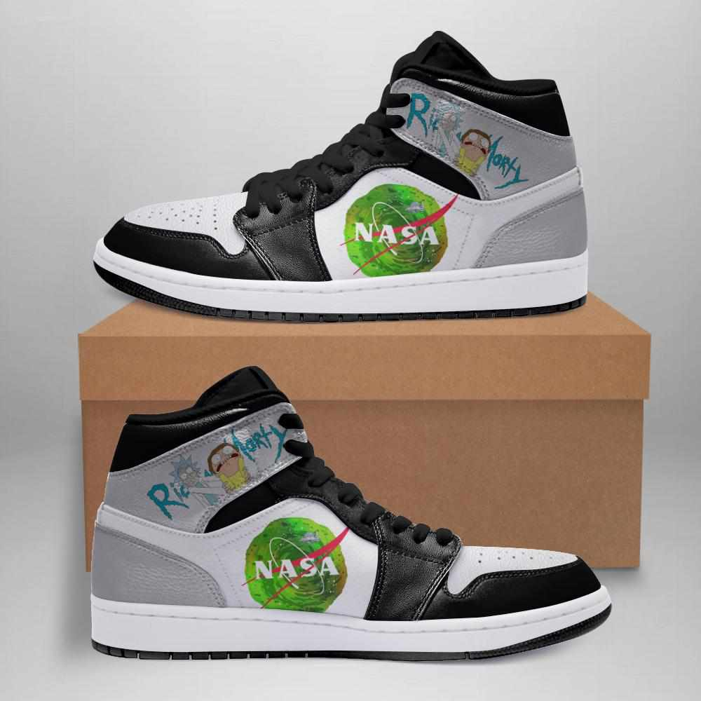 Rick And Morty Ha04 Custom Air Jordan Shoes