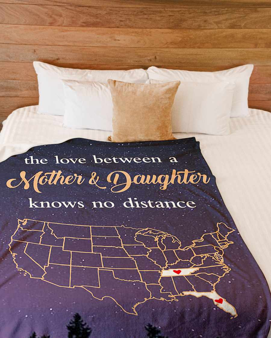 tennessee florida the love mother and daughter fleece blanket 1584508335396 Tennessee Florida The Love Mother And Daughter Fleece Blanket