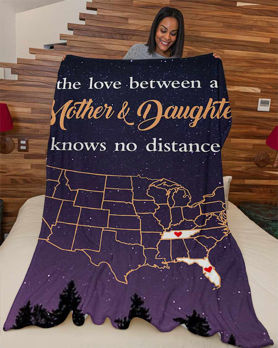 tennessee florida the love mother and daughter fleece blanket 1584508341503 Tennessee Florida The Love Mother And Daughter Fleece Blanket