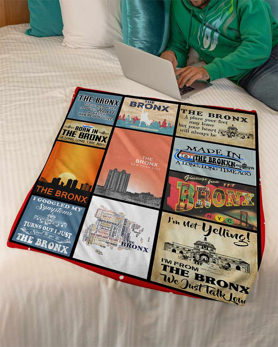 the bronx that place forever in your heart fleece blanket 1584507825333 The Bronx That Place Forever In Your Heart Fleece Blanket