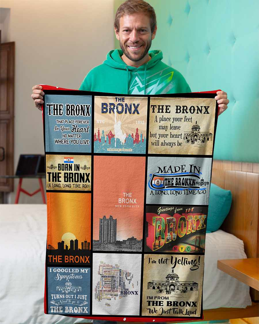 the bronx that place forever in your heart fleece blanket 1584507832262 The Bronx That Place Forever In Your Heart Fleece Blanket