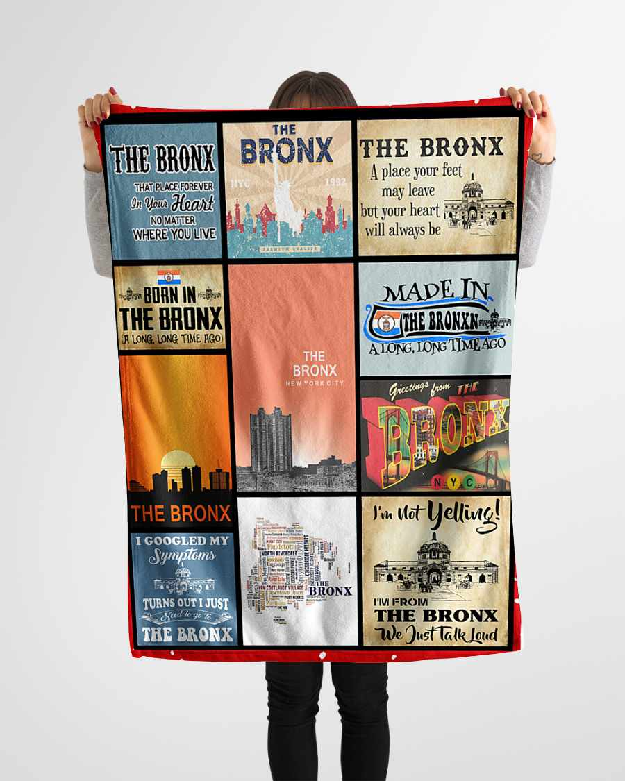 the bronx that place forever in your heart fleece blanket 1584507839358 The Bronx That Place Forever In Your Heart Fleece Blanket
