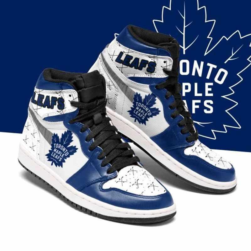Toronto Maple Leafs Ice Hockey Custom Air Jordan Shoes